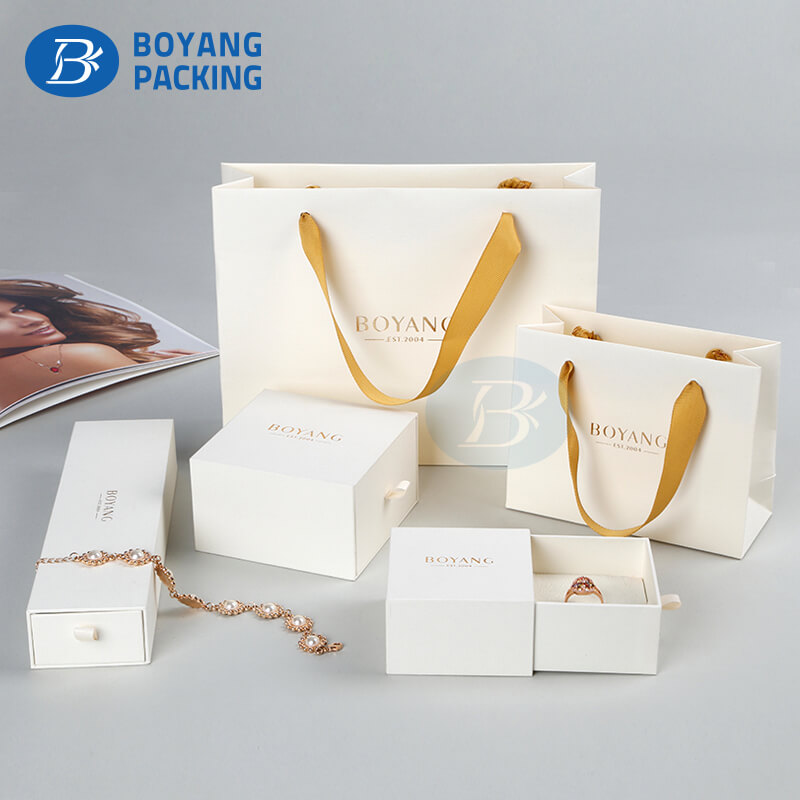 Portable paper bag wholesale,jewelry box factory.