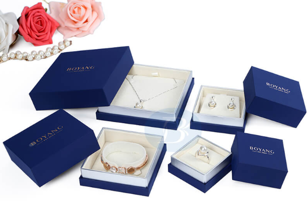 How to make Custom paper jewelry box sets increase the sales of jewelry?