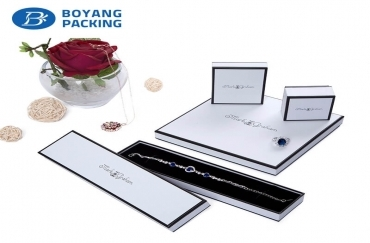 Custom jewelry packaging box to understand the difference between slotted boxes and folding boxes